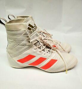 Adidas Speedex 18 Boxing Shoes White Solar Red Men's Sz 7 women 8.5 FU8173 NEW