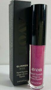 Avon Glimmer Kiss Liquid Lipstick - Full Size 0.07 Fl. OZ. - Violet Sapphire