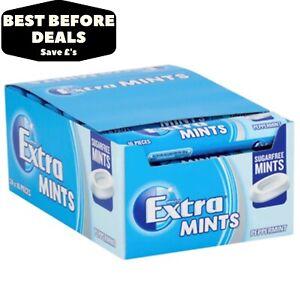 Wrigley's Extra Peppermint Sugar Free Mints Roll - 24 x 28g - BBE 12/05/21