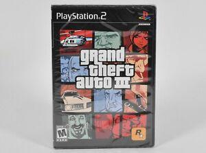 Sony Playstation 2 PS2,GTA Grand Theft Auto III 3,NTSC