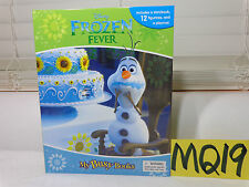 NEW DISNEY MY BUSY BOOK FROZEN FEVER STORYBOOK-FIGURINES & PLAYMAT 3 YEARS UP