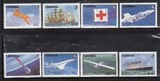 Gambia 739-46 Aviation Mint NH