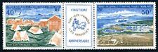 TAAF 1971 65-66 ** POSTFRISCH STREIFEN TADELLOS 60€(I2300
