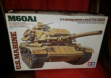 Tamiya 35157 1/35 Model Kit U.S Marine M60A1 Main Battle Tank w/Reactive Armor