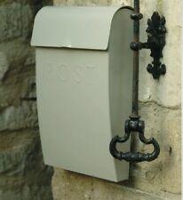 Garden Trading Wall Mounted Post Box Stone