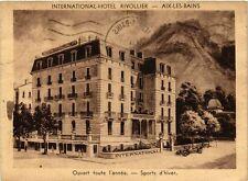 CPA  International Hotel Rivollier -Aix-les-Bains - Ouvert foute l'année(352172)