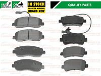 FOR VAUXHALL MOVANO RENAULT MASTER 2010- PREMIUM FRONT REAR BRAKE PAD PADS SET