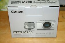 Canon EOS M200 24.1 MP Mirrorless Interchangeable Lens Camera  New and Boxed