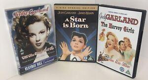 Judy Garland 3X DVD Bundle
