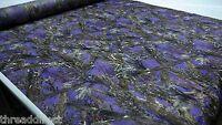 "Hunting Camo True Timber MC2 Purple Fabric 60""Wide Poly Taffeta Camouflage"