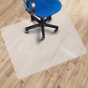 Bodenschutzmatten für Hartböden in 10 Größen Bürostuhlunterlage PP