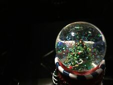 Christmas Tree Snow Globe Water Ball Xmas Ornamental Decoration Best Gift