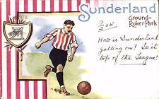 Soccer / Football. Sunderland in Dainty Series. Ground-Roker Park.