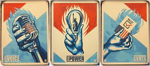 Thomas Wimberly - Realizing Democracy - 3 Prints Set - S/N/100 - 2019