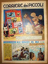 CORRIERE DEI PICCOLI 1961 NR.33 TOPO GIGIO - DINO BATTAGLIA