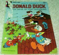 Walt Disney's Donald Duck 127, VG- (3.5) Siege of Fort Duckburg! 50% off Guide!