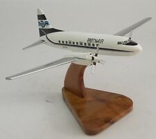 Convair 580 Partnair CV-580 Airplane Wood Model Free Shipping New