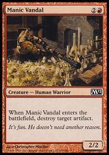 4x Vandalo Maniaco - Manic Vandal MTG MAGIC M12 Eng
