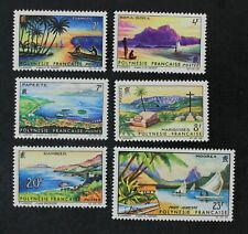 CKStamps: France Stamps Collection French Polynesia Scott#211-215 C32 Mint H OG