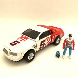 Vintage 1980's Kenner M.A.S.K Razorback Car + Figure MASK Toy Vehicle