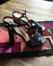 sandales femme 37 Porté 1 Fois Talon 11 Cm