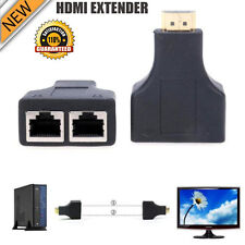 HDMI over RJ45 CAT5E CAT6 UTP LAN BALUN AMPLIFICATORE RIPETITORE - 1080P 3D HD