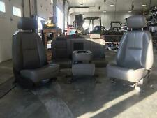 2013 GMC SIERRA CHEVROLET SILVERADO 2500 3500 FRONT & REAR SEAT SET VINYL