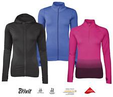 Top Damen Funktionsjacke shirt Seamless Sport  Laufen Fitness Langarmshirt Sport