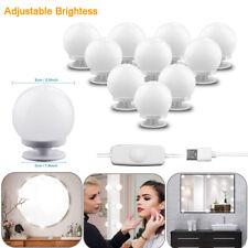 Make Up Mirror Lights 10 Led Kit Bulbs Vanity Light Dimmable Lamp Hollywood Cc