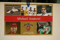 MICHAEL ANDRETTI JIM BEAM AT INDY 500 FULL COLOR POSTER 16 X 24