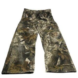 Wrangler Men's Camo Realtree Hardwoods Hunting Pants 97GR1HD Size 34 x 34
