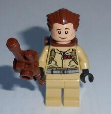 MOVIE Lego Ghostbusters Dr. Peter Venkman Tan Jumpsuit Genuine Lego 21108 #4