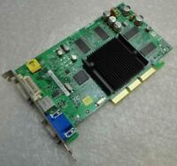 128MB HP 5187-3702 GeForce FX5200 X8 TVD DVI VGA AGP Graphics Card