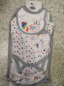 BORN IN 2021 New-Born Baby Clothes Cotton Baby Set 5 pieces size newborn