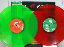 "QUEEN ""Live Killers"" 1979 Japan ONLY 2Lp RED/GREEN COLOR VINYL Lp w/Obi MERCURY"