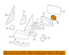 BMW OEM 15-16 X3 Door Side Rear View Mirror-Frame Right 51167291204