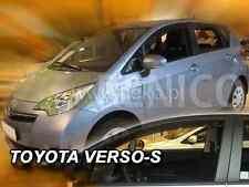 TOYOTA VERSO-S  5-portes 2011-2015 Deflecteurs de vent 2-pièces HEKO Bulles