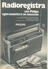 PHILIPS RADIOREGISTRATORE - ELETTRODOMESTICI - ADVERSITING -