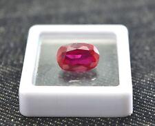 5.30 Ct Rare Natural & Certified Burma Ruby AAA+ Cut Loose Gemstone R170