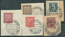 More details for czechoslovakia 1938 german occupation cancels bin price gb£10.00