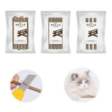 New listing Pure Natural Catnip Pet Cat Toy Toothpaste Branch Cleaning Teeth Sticks Pet Ufeh