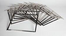 "10 Kent Brand Stainless Steel 8""x10"" Film Development Hangers Ex. Cond. No rust"