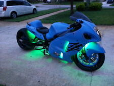 18 Color Change Led Super Sport Motorcycle 10pc Led Neon Pod Light Kit