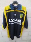 VINTAGE Maillot F.C NANTES LE COQ SPORTIF Champion de France 2001 away shirt XL