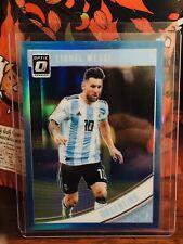 2018-19 Panini Donruss Optic Aqua Blue Lionel Messi ARGENTINA 18/149 RARE