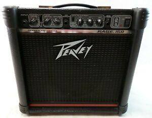 Guitar Amplifier Peavey Rage 158 Transtube Series Electric Guitar 15 Watt  Amp