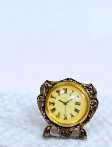 Reutter Porcelain Dollhouse Miniature Non-Working Clock