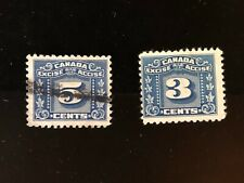 CANADA REVENUE STAMPS: FX64 and FX66