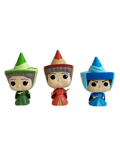 Funko Pop! Disney: Sleeping Beauty - Flora, Fauna, Merryweather Fairy Godmother