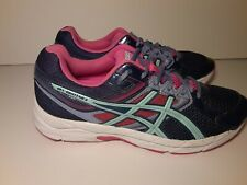 Asics Gel Contend 3 Running Shoes  Blue and Pink Womens Sneakers Size 10 USA